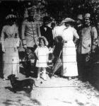 Az albán fejedelmi család