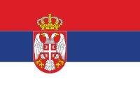 Szerbia zászlaja