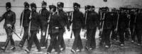A budapesti népfelkelők gyakorlatra mennek