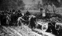 Ágyúvontatás a galíciai harctéren