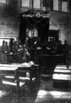 Magyar katonák a szerb képviselőház tárgyalótermében