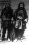 Omár Agha híres vezér és öccse, a háború vezetői Perzsiában