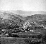 Ahol az oroszok betörtek Magyarországba: az Uzsoki hágó, a hol 8000 orosz katona holttestét temették el katonáink.