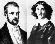 Bismarck a feleségével