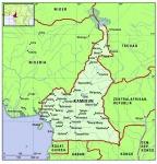 Kamerun. Német gyarmat volt, francia gyarmat lesz.