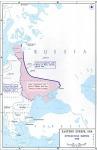 A breszt-litovszki békében elveszített orosz területek