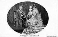 Zita és IV. Károly koronázása