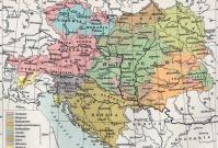 Az Osztrák-Magyar Monarchia nemzetiségi térképe