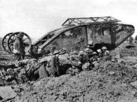 Tank - 1918 őszén döntő szerepet játszott
