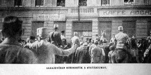Kihirdetik a statáriumot Sarajevoban