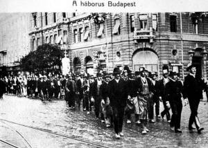 A behívottak tüntetése