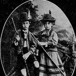 Az ifjó Ferencz Ferdinánd (bal oldalon)