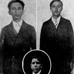 A merénylő-Csubrilovics, Palavcsira, középütt Bukovác szerkesztő