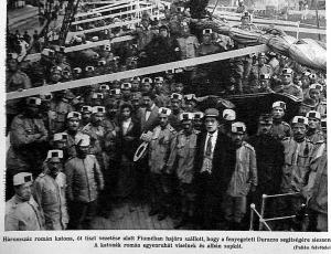 300 román katona indul Durazzoba