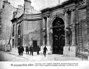 A Monarchia párizsi nagykövetsége