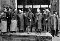 Kinai küldöttség a MÁV gépgyárában