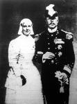 Vilma holland királyné férjével, Henrik herceggel.