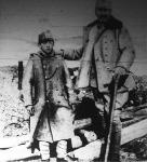 Hadseregünk legfiatalabb altisztje. A fénykép a kárpáti harctéren készült
