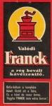 A Franck népszerű márka a kávépiacon