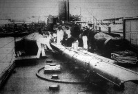 A torpedó lanszircső.