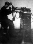 Elektromos forrasztó-gép sárgaréz lemezek koronggá való forrasztására