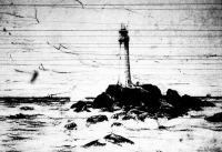 A lands-endi világitó torony, Anglia nyugati partjainál
