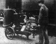 A vasúti fékszerkezetet megvizsgáló gépezet, hordozható kocsin
