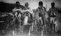 Pásztorok a felszabadított Hunyadmegyéből