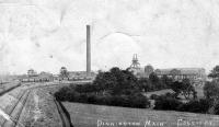 Dinnington Main Colliery, a drótnélküli telefont alkalmazó angol bánya
