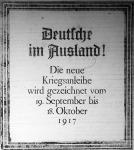 A hetedik német hadikölcsön hirdetése a Hétfői Lapokban