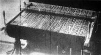 A háború alatt újra előkerültek a házi szövőkeretek
