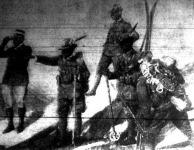 Olasz alpesi vadászok a karinthiai határon