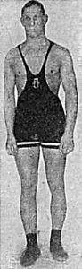 Edvin Fölström a közép B sulycsoport nyertese