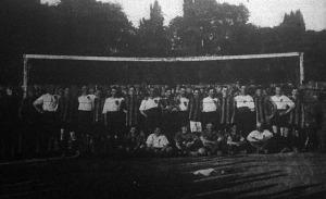 magyar-osztrák footballmérkőzés