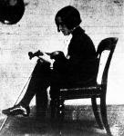 Pártos István, a tizemhárom éves hegedűművész. A Zeneakadémia vizsgáján szenzációt keltett hatalmas tehetségre valló játékával