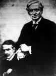 Asquith miniszterelnök. Előtte Lloyd George ül