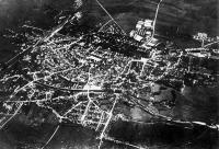 Légifelvétel Nagyszebenről. 1916. szeptember 23.