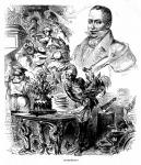Anthelme Brillat-Savarin (1755-1826) francia mesterszakács, epikureista író.