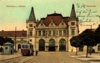 Temesvár, vasútállomás