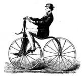Az egyik első kerékpár