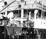 Kivándorlók egy hajó fedélzetén