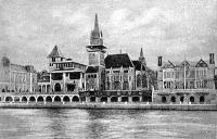 A magyar pavilon a Szajna felől