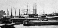 Részlet az antwerpeni kikötőből