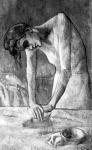 Picasso:  A vasaló nő