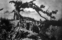 Gránát találta a százados fát