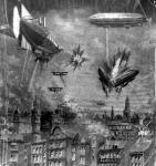Francia-német csata a levegőben 1913 -ból (illusztráció)