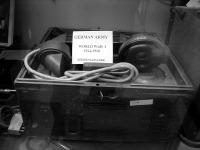 Német hadsereg által használt hordozhato telefon (Siemens-Halske)