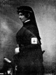 Auguszta főherczegnő a vöröskeresztes ápolónők öltözékében