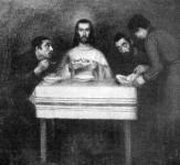 Kernstock Károly : Krisztus és az emauszi ifjak