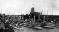 A német flotta bevetésre vár